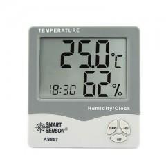 温湿度计AS807温湿度仪表大屏幕高精度家用温湿度计